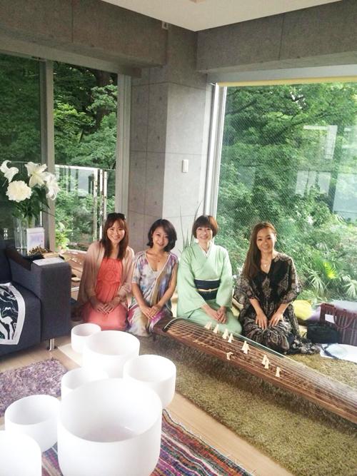 風水ネイルrurinailイベント 女神カフェ