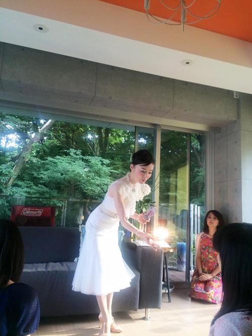風水ネイルrurinailイベント第4回女神カフェ